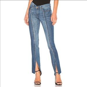Blank NYC Jeans Skinny Shadow Seam Miss Matched
